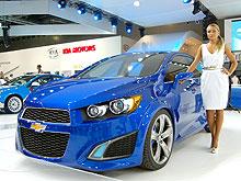 Каким будет новое поколение Chevrolet Aveo. Фото - Chevrolet
