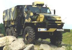 Армейский бронированный УРАЛ-432009