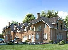 """Проект  """"S.505 """" - это просторный дом, рассчитанный на людей, которые..."""