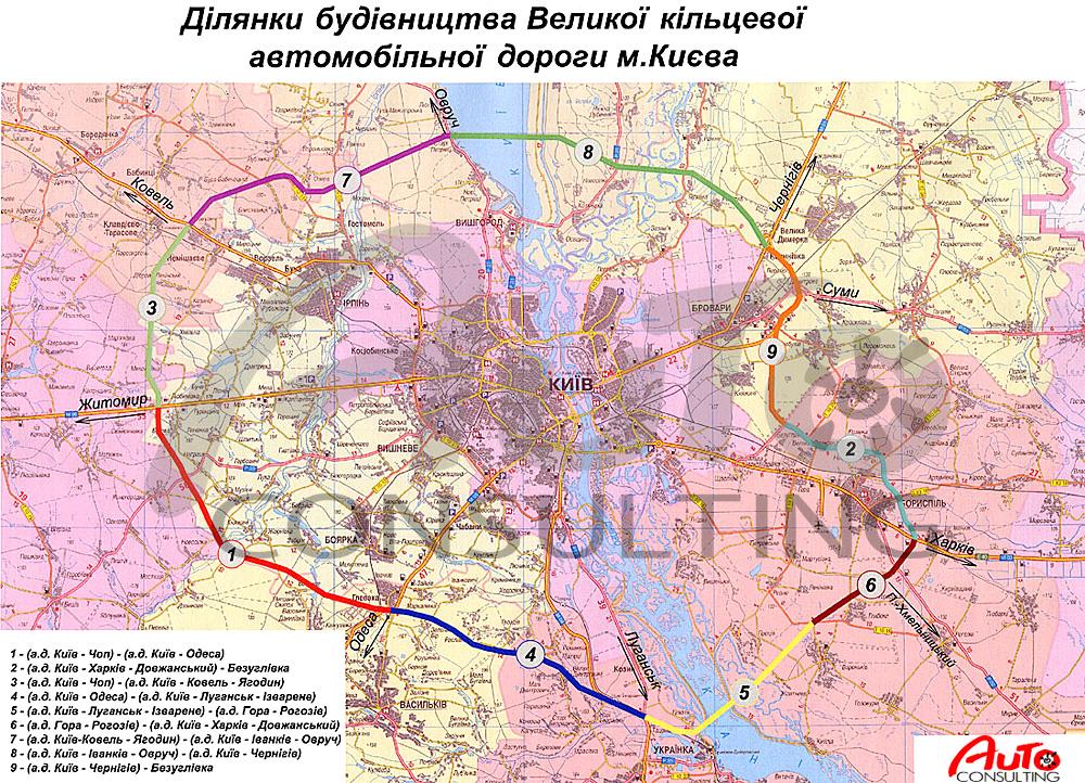 Карта в большом разрешении