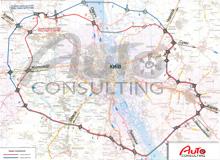 Определены основные проблемы строительства большой кольцевой дороги вокруг Киева