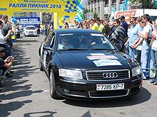 В Украине прошло международное ралли на Кубок Neste Oil