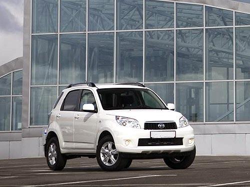До конца мая на Daihatsu Terios 2012 года действуют скидки 8000 грн. - Daihatsu