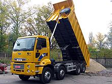 Тест-драйв самосвала: настоящий строитель FORD Cargo 4135D
