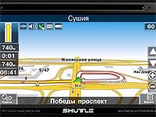 На украинском рынке появился новый 2-DIN мультимедийный центр Shuttle SDVN-6955
