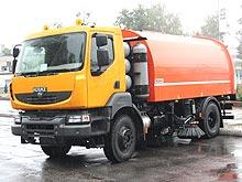 КрАЗ представил новый коммунальный автомобиль на газу - КрАЗ