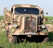 Автомобили времен Великой отечественной войны опять оказались в строю - войн