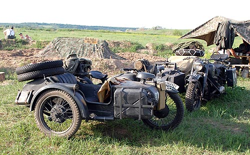Автомобили времен Великой отечественной войны опять оказались в строю