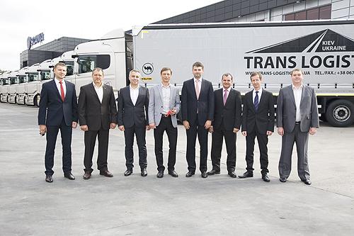 Scania поставила юбилейную партию тягачей R440 Highline Евро 5 для компании «Транс-Логистик» - Scania