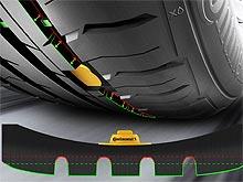 Шины Continental будут сигнализировать, когда их нужно заменить
