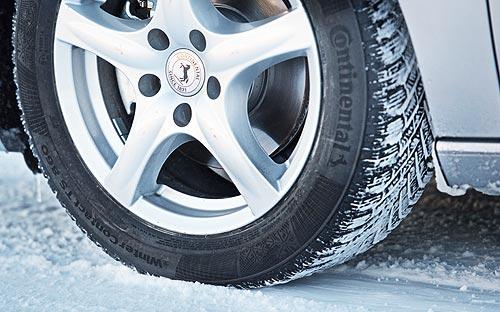 Зимние шины Coninental снова назвали лучшими - Coninental