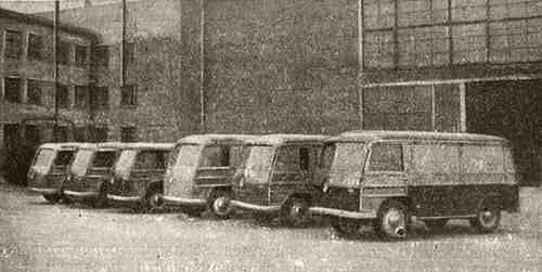 Серийное производство электромобилей в Украине началось еще 64 года назад. Уникальные фото