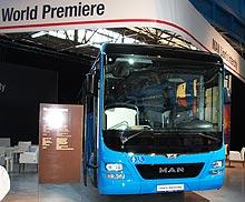 MAN представил самый безопасный междугородний автобус