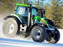 Новый мировой рекорд скорости для тракторов установили на шинах Nokian Tyres