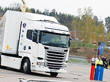 Как выбирали лучшего водителя Европы. Видео - Scania