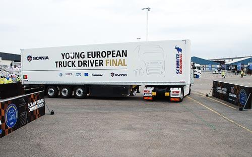 Как выбирали лучшего водителя Европы