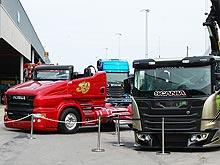 Особенности скандинавского тюнинга грузовиков. Фото - Scania