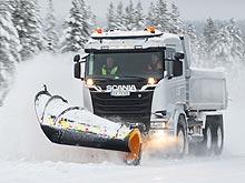 Как чистят дороги от снега в северных странах. Видео