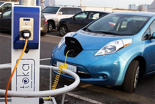 Электромобили освободили от НДС и акциза до 2019 года - электромоб