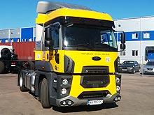 Фоззи Групп тестирует тягач Ford Trucks 1848T