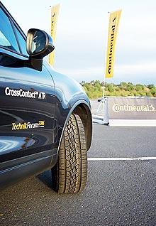 Сontinental выводит на украинский рынок новые шины для внедорожников CrossContact ATR - Сontinental