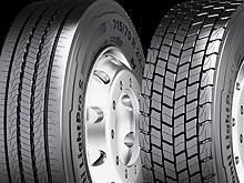Continental представляет новые линии шин для еще большей экономичности