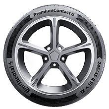 Continental выпустил новые спортивные и комфортные шины PremiumContact 6 - Continental