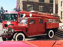 В Киеве показали эволюцию пожарной техники за 80 лет