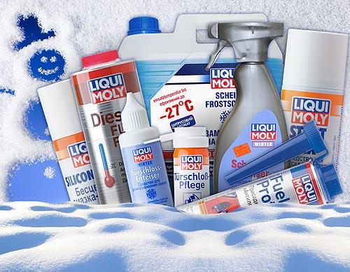 Перезимуем вместе: продукты Liqui Moly, которые помогут справиться с зимними проблемами - Liqui Moly
