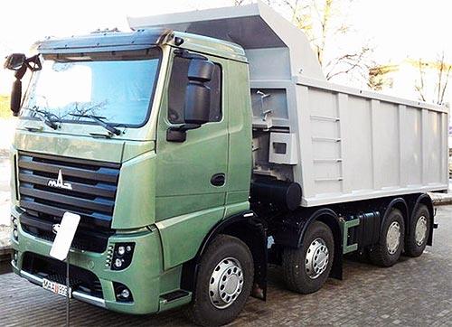 В Киеве состоится премьерный показ самосвала МАЗ-6516М9 (Евро-6). Фото - МАЗ