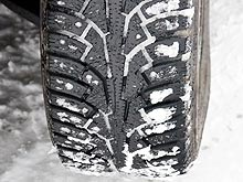 В чем разница между старыми и новыми зимними шинами. Наглядный эксперимент - шин