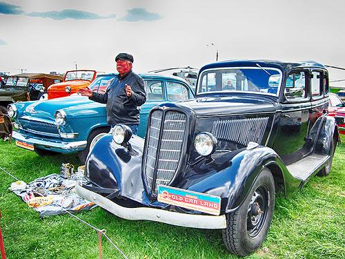 На OldCarLand в Киеве представят 900 автомобилей