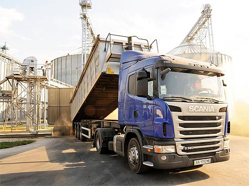Scania представит украинским аграриям уникальный сельхоз-самосвал - Scania