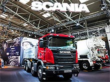 Scania представила тягач грузоподъемностью 150 т