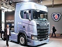 Scania представила две модели в дизайне Next Generation