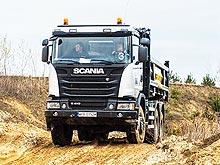 В Украине пройдет тест-драйв техники Scania в карьере - Scania