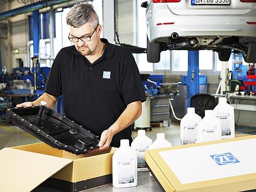 ZF Aftermarket предлагает всё для замены трансмиссионного масла в одном пакете - ZF
