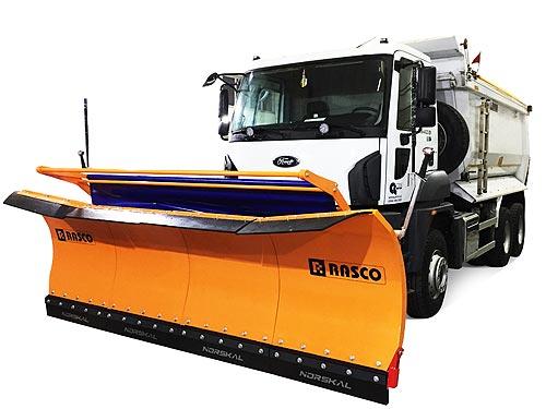 В Украине доступно универсальное решение RASCO для уборки улиц зимой - АВТЕК