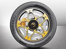 В Continental изобрели колесо и тормоза для электромобилей