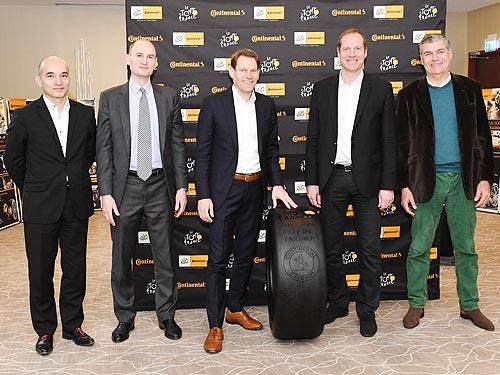 Continental стал официальным партнером Tour de France - Continental