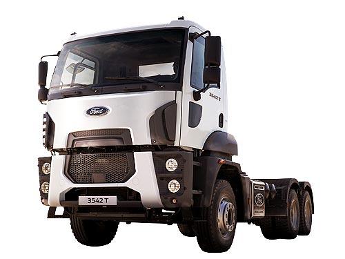 В Украине представят новый седельный тягач FORD TRUCKS 3542T - FORD