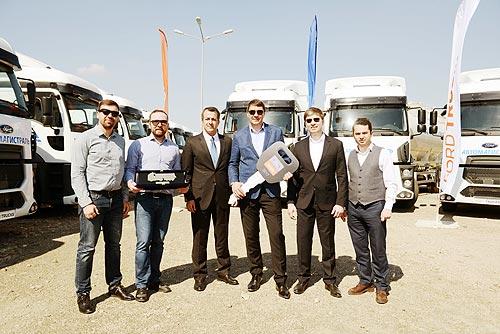В Украине закуплена крупная партия строительных самосвалов Ford - Ford