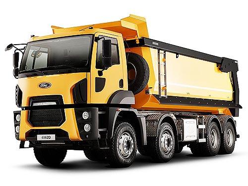 Ford Trucks активизируется в сегменте строительной техники - Ford
