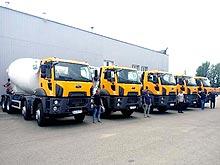 В Украине поставлена крупная партия автобетоносмесителей Ford Trucks