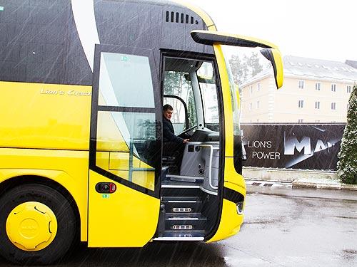 В Украину поставили новейший MAN Lion's Coach через месяц после мировой премьеры - MAN
