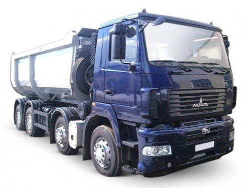 МАЗ представил спецтехнику для добычи и транспортировки - МАЗ