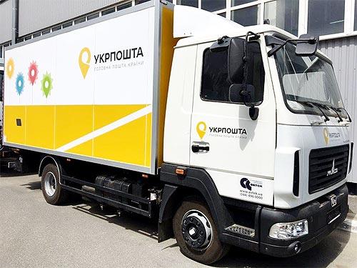 УКРПОЧТА получила новую партию грузовых фургонов МАЗ