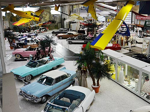 Какими были автомобили американской мечты. Репортаж из музея - музе