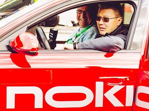 Nokian Tyres объединяет в одной шине противоположные качества. Наш репортаж - Nokian