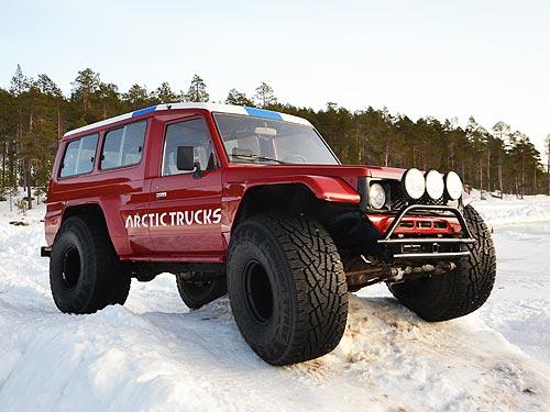 Автомобиль, которому не страшны снегопады - снег